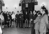 1970 - visita del ballet del Liceu(Antics alumnes ) amb el director Hermann Bonnin i Llinàs