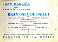 1967 - Palau de la Musica - festival de otoño