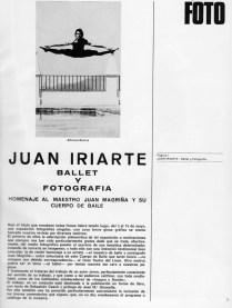 Ballet y Fotografía - Alfonso Rovira (foto de Juan Iriarte)