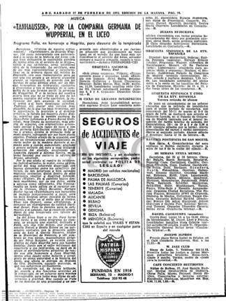 1973-02-17-ABC-pag. 78-Alfonso Rovira, en la breve bacanal que encierra la, edición de Oí SEMANA NUEVA MÚSICA EN UN [...] de Juan Magriñá para sus huestes.