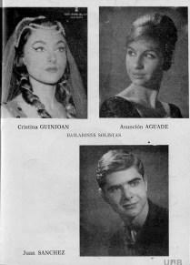 1962-63 - Programa Liceu- Temporada d'opera d'hivern del 3/11/1962 al 11/02/1963Las Bodas de Figaro- Elektra-Soiree vienesa-Don Quijote-eugene Onieguin