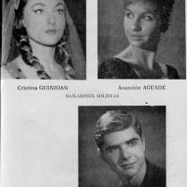 1962-63 - Programa Liceu- Temporada d'opera d'hivern del 3/11/1962 al 11/02/1963Las Bodas de Figaro- Elektra-SOIRÉE VIENNESE-Don Quijote-eugene Onieguin