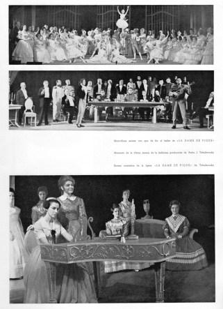 1967 - Gran Teatro del Liceo - temporada de opera-La dame de Pique-