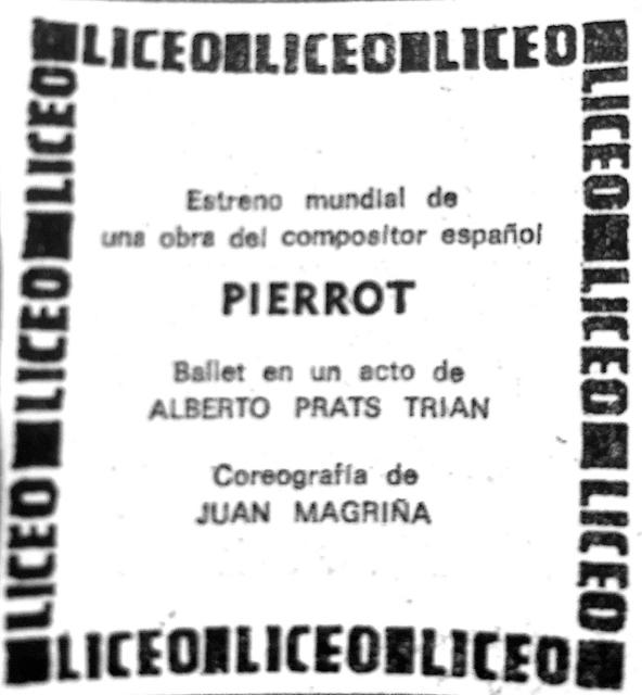 1973-01-20-La Vanguardia-PIERROT- estreno mundial
