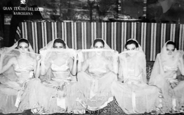 1955-DEBORA E JAELE-Cristina Guinjoan,Araceli Torrens,Antoñita Barrera,Marien Torrents,Pili Brusi