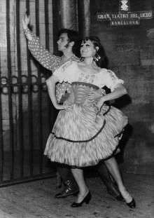 1969-11-13-CARMEN-opera-Tomàs Manyosa, Àngels Aguadé