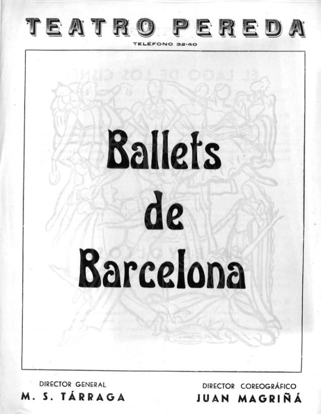 PBB-1951-06-07-Ballets de Barcelona-Teatro Pereda-Santander-0