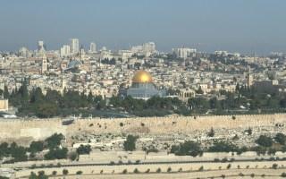 Afbeelding van Jeruzalem bij een blog over bijbelteksten over Jeruzalem en Israel