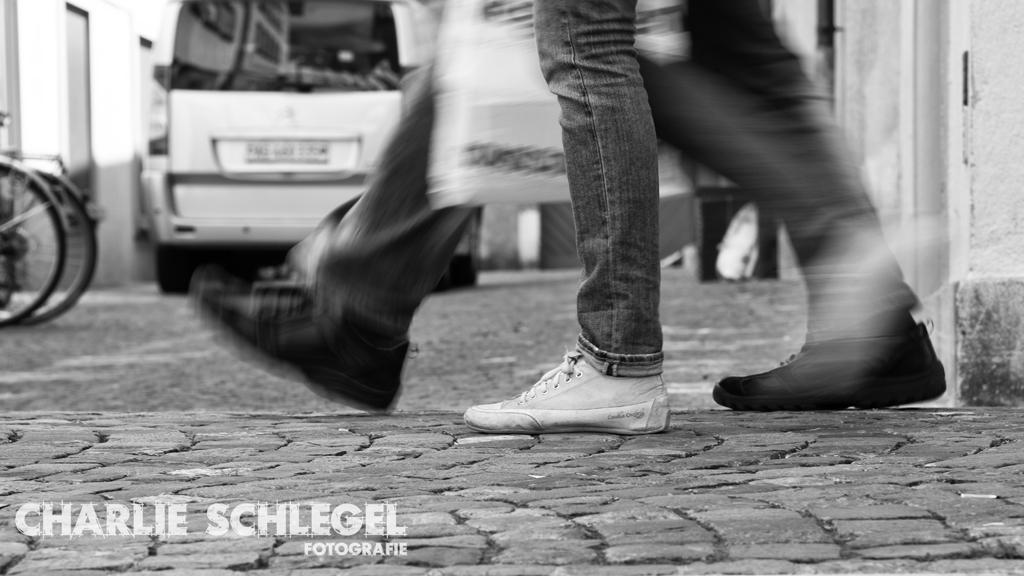 Mobilität — in Schwarz – Weiss