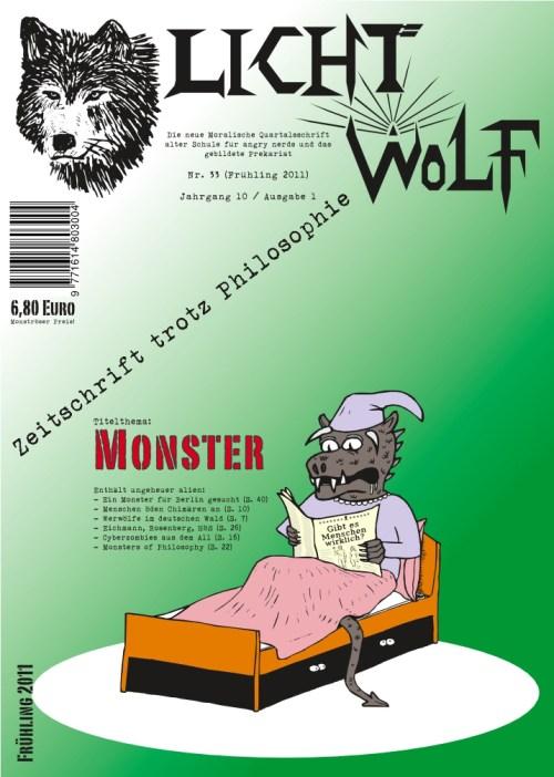 "Lichtwolf Nr. 33 (""Monster"")"