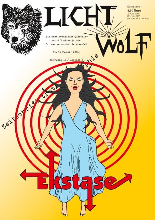 """Lichtwolf Nr. 54 (""""Ekstase"""")"""