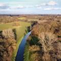 Die Hessel ist ein 40 km langer Nebenfluss der Ems. Der Fluss mündet bei Einen in die Ems.