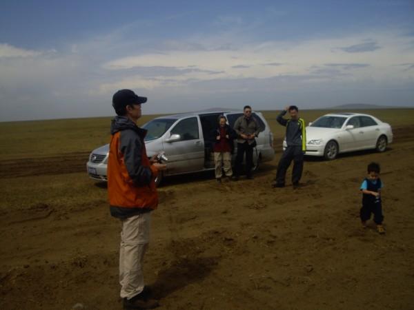 דרכי עפר במונגוליה