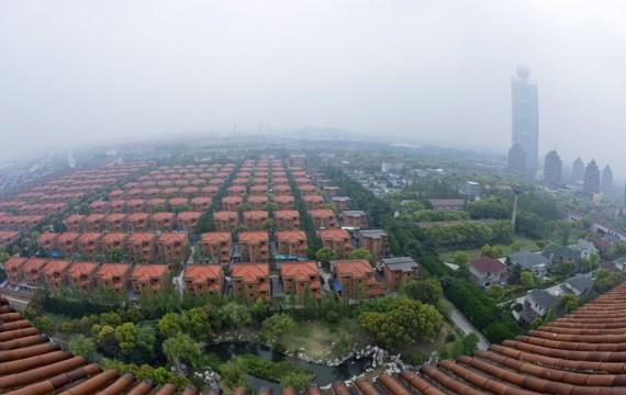 גורד שחקים כפר סיני סין