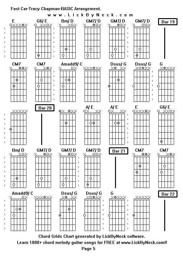 Nice Fast Car Guitar Chords Ideas - Song Chords Images - apa ...