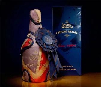 Chivas Regal edición Vivienne Westwood
