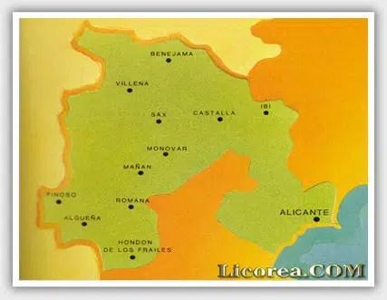 Historia del Vino de Alicante