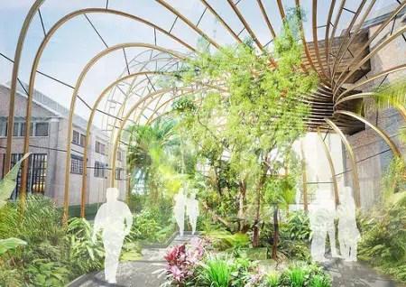 Bombay Sapphire construye nueva destilería de diseño