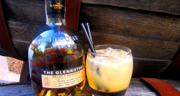 Coctelería Premium con whisky The Glenrothes