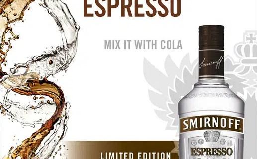 Nuevo Smirnoff Expresso: Vodka y Café Expresso