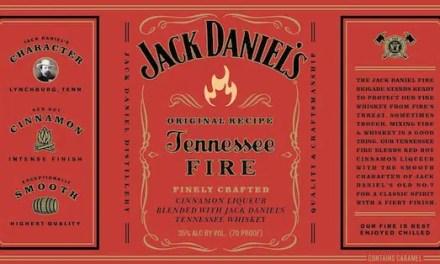 Jack Daniels lanza: Jack Daniels Tennessee Fire