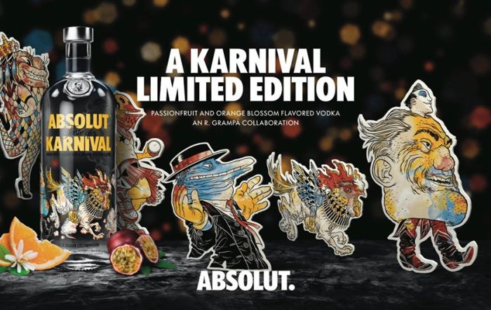 Nuevo Absolut de Colección: Absolut Karnival