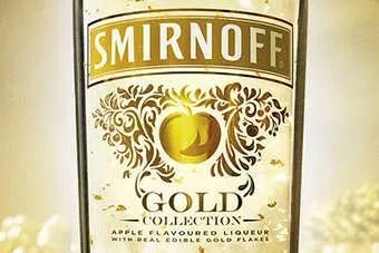 Nuevo Smirnoff Gold Apple
