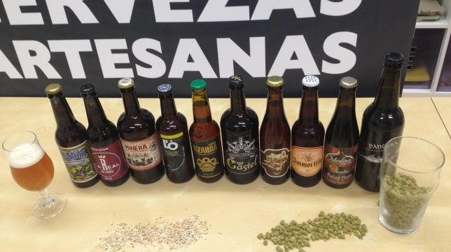 Cerveza artesana en auge en España