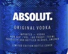 Nueva edición limitada de Vodka Absolut: Absolut Sequin