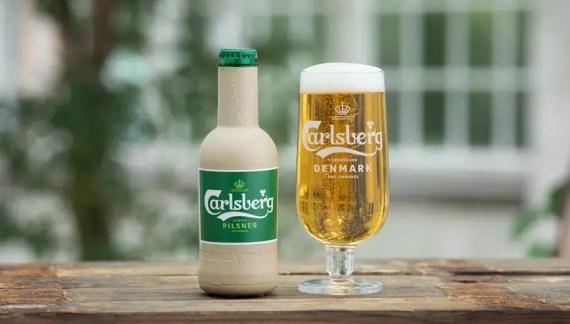 La 1ª Cerveza en botella de papel
