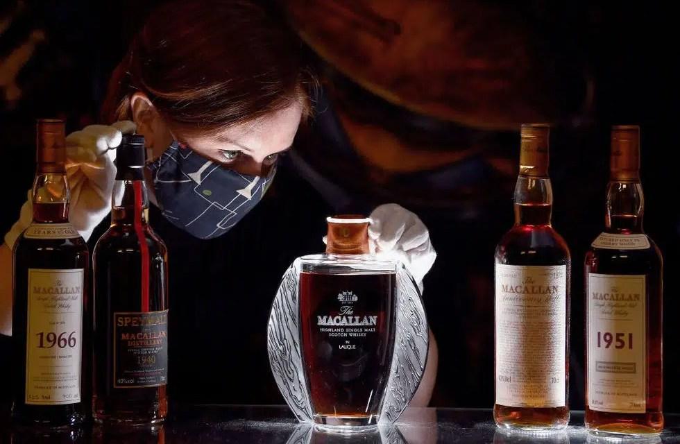 El Whisky Macallan 1940 causa revuelo en Amazon