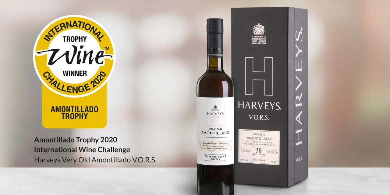 Harveys, el mejor vino amontillado del mundo en 2020