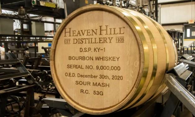 Heaven Hill llega a 9 millones de barriles de bourbon