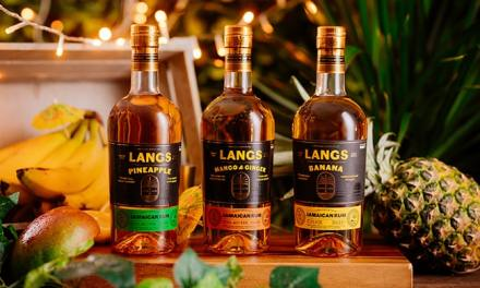 Langs y 2 nuevas expresiones: Mango and Ginger y Pineapple
