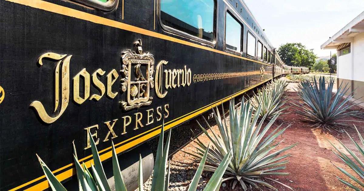 El Tren del tequila: 37 espacios para pasajeros y barra abierta