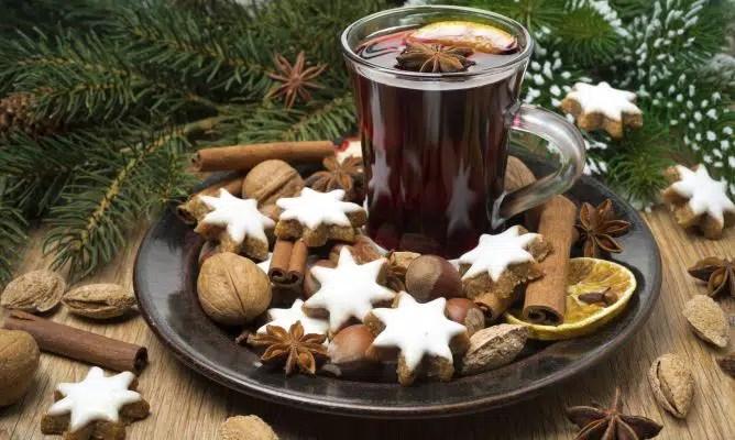 Vino caliente especiado, una receta para Navidad 2020