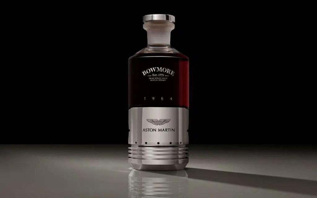 Aston Martin y Bowmore: whisky con un pistón del DB5