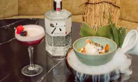 Ginebra Roku armoniza cócteles en menú especial con sabor nipón