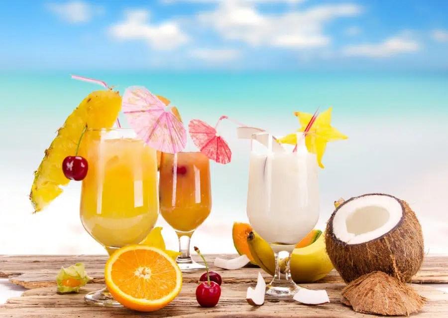 Decoración en la coctelería y la creatividad del barman