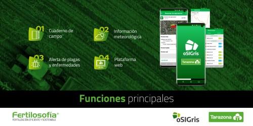 oSIGris es la primera app de agricultura cooperativa