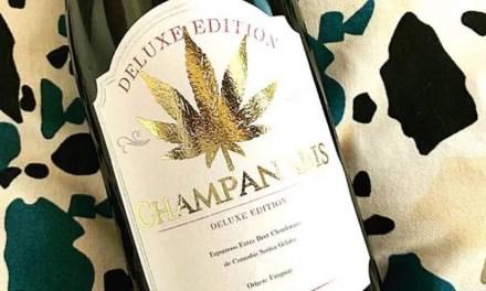 Champagne con cannabis y la clausura de una bodega argentina