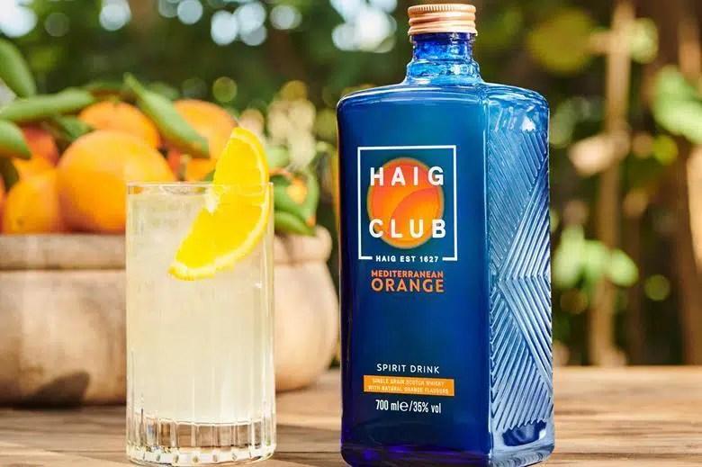 Haig Club Orange: whisky con sabor mediterráneo a 25 libras