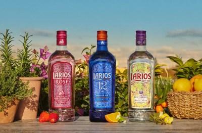 Los tres botánicos de Larios Dry Gin