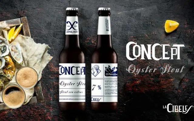 La Cibeles: cerveza elaborada con ostras