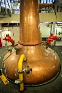 Single pot still para elaborar whiskey irlandés