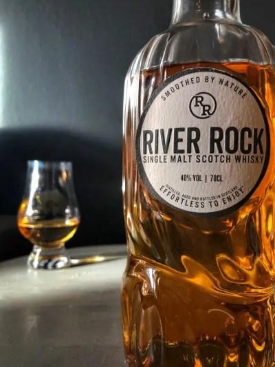 River Rock single malt Scotch whisk