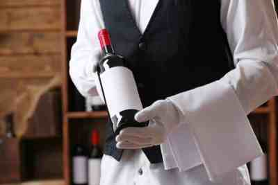 un buen servicio de vino