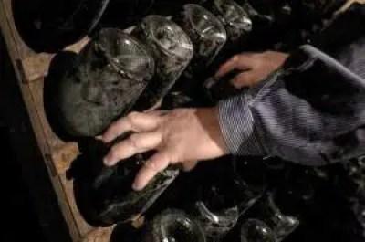 fermentación del vino en la botella