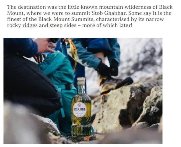 River Rock single malt Scotch whisky