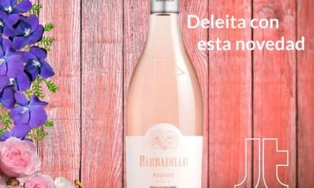 Barbadillo Rosado: protagonismo absoluto del color rosa pálido y brillante